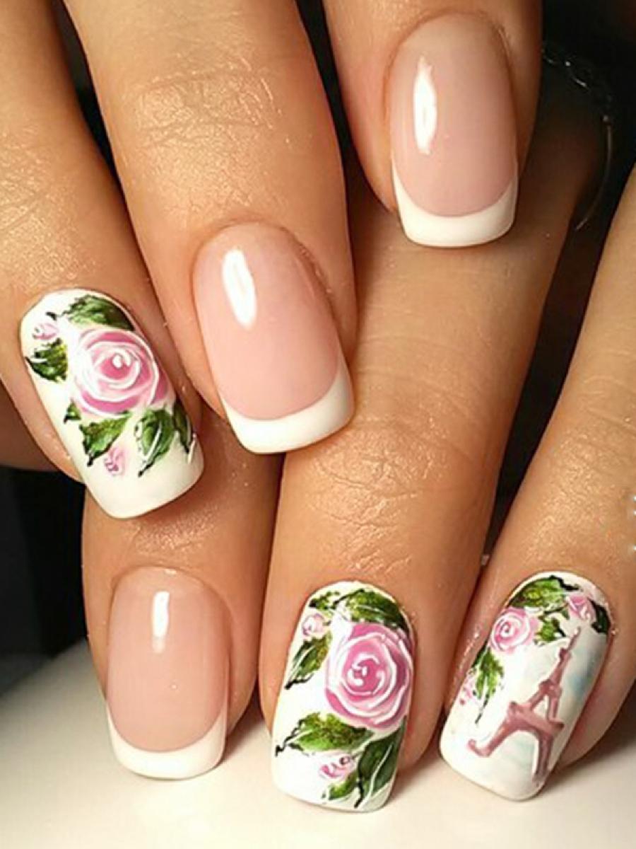 Курс «Дизайн ногтей - цветы акварель» - Академия Клеопатра